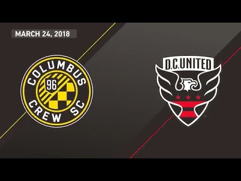 HIGHLIGHTS: Columbus Crew SC vs D.C. United | March 24, 2018