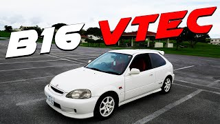 JDM HONDA CIVIC TYPE-R EK9 HATCH FULL REVIEW! VTEC WARNING