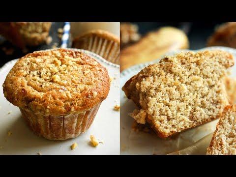 KETO MUFFINS | Banana Nut Breakfast Muffin Recipe | 1.5g NET CARBS