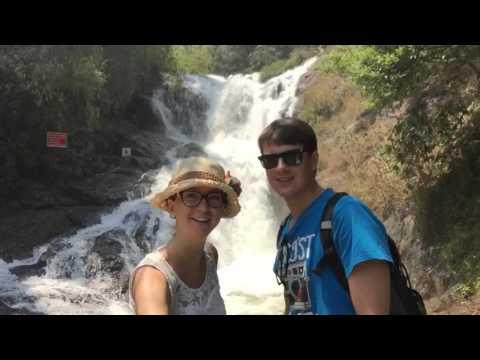 Dantala waterfall, Dalat, Vietnam