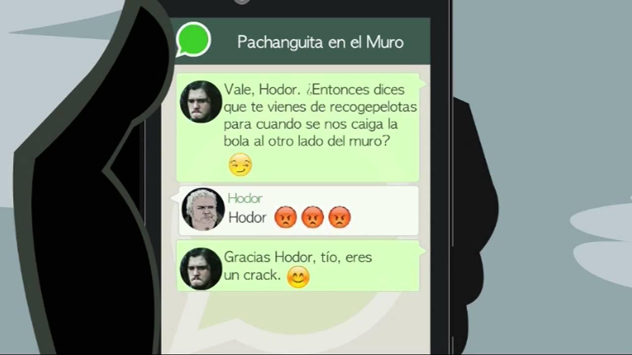 Grupo De Whatsapp: Juego De Tronos.
