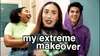 MY SISTER AND BRENT GIVE ME AN EXTREME MAKEOVER | MyLifeAsEva