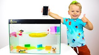 Sink or Float | Educational Video for Kids with Gaby and Alex