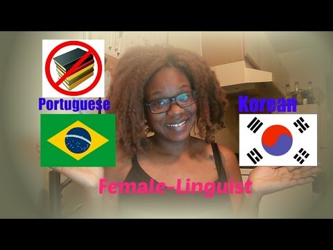 Vlog #8|| HOW I AM LEARNING PORTUGUESE AND KOREAN.