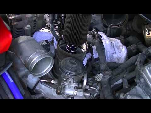 Oil Cooler Replacement (3): Removing Oil Filter and Fuel Filter Housing