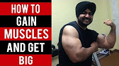 How to GET BIG and GAIN MUSCLES