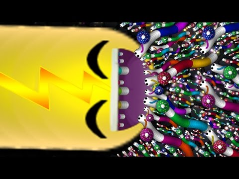 Slither.io 1 Biggest Snake Eating 1,000,000 Snakes Ever! (Slitherio Funny/Best Moments)