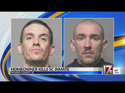 1 inmate captured, 1 shot and killed by homeowner after escaping SC jail