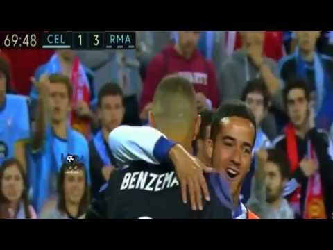 اهداف مباراة سيلتا فيغو 1 4 ريال مدريد CELTA VIGO 1-4 REAL MADRID ARABIC COMMENTARY