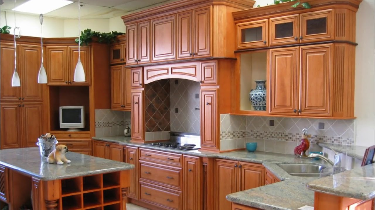 Wooden Modular Kitchen Cabinets Design