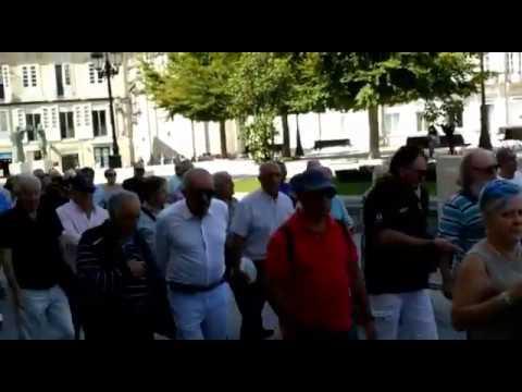 Los pensionistas de Lugo retoman sus protestas