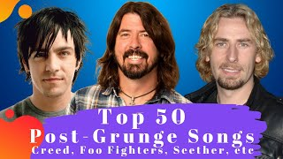 Top 50 Post Grunge Songs. The Best Post Grunge Songs