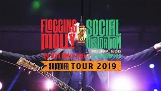 Flogging Molly - US Tour 2019 w/ Social Distortion