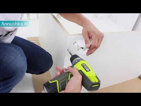 Видео обзор и сборка: Комод с пеленальным столиком СКВ 70006Х