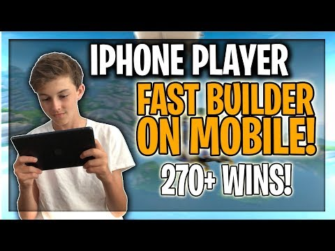 PRO Mobile PLAYER on iPhone! // FAST Builder! // Road To ...