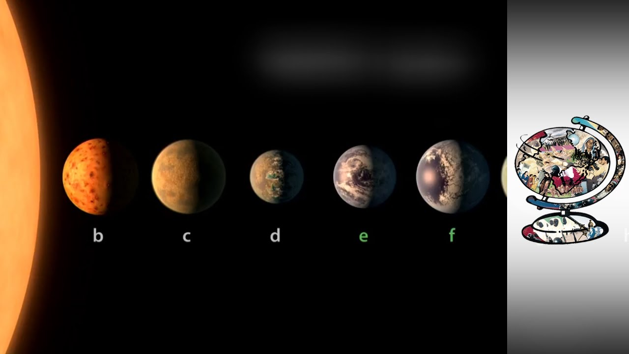 7 earthsized planets found orbiting star 39 lightyears - 1280×720