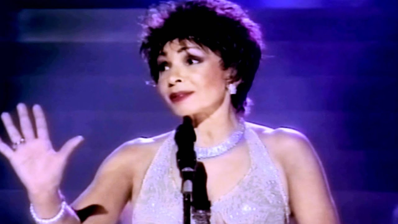 Shirley bassey yesterday when i was young 1998 viva for Diva tv