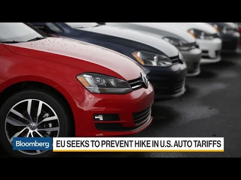 EU Seeks to Prevent Hike in U.S. Auto Tariffs