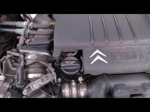 Citroen C5 1.6 HDI parts of engine
