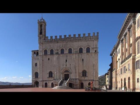 Gubbio In Provincia Di Perugia. Italy