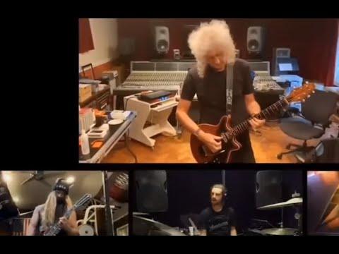 """Brian May, Vai, Bettencourt, Zakk Wylde,Malmsteen, Abasi performed """"Bohemian Rhapsody"""" in lockdown"""