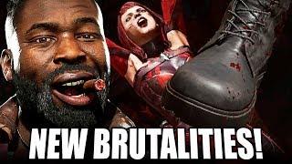 Mortal Kombat 11 - Reacting to…