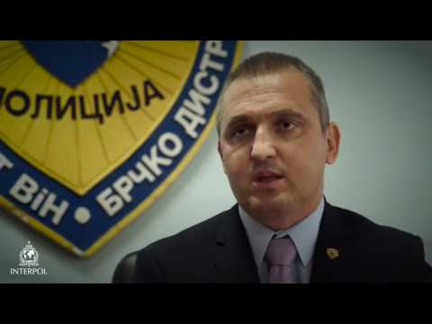 INTERPOL Operation Trigger II - Mirsad Ribic, Brcko Criminal Police (BiH)
