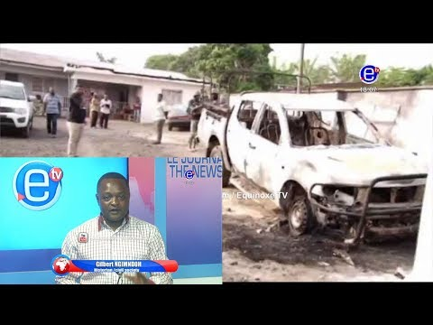 THE 6PM NEWS (2nd day Ghost town in buea)TUESDAY FEBRUARY 5th 2019 - EQUINOXE TV