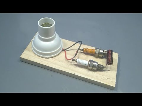 how to make wireless free energy electric generator _ new science project 2019