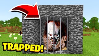 Minecraft : We Trapped EVIL PENNYWISE (Ps3/Xbox360/PS4/XboxOne/PE/MCPE) Video