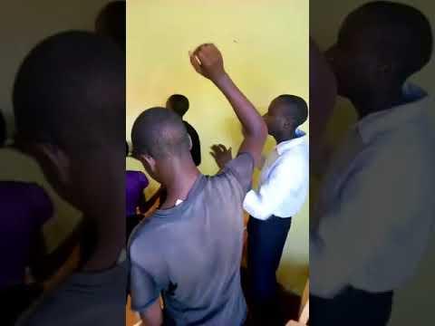 Children Worshipping God in Fellowship WFF Mois Bridge Kenya