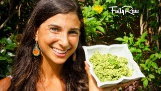 Low Fat Raw Vegan Pesto!