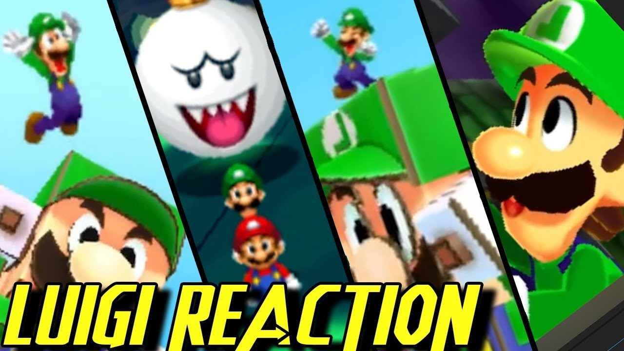 Mario & Luigi Paper Jam - All Luigi Funny Moments + Reactions / Cutscenes Movie 2018 + Easter Egg