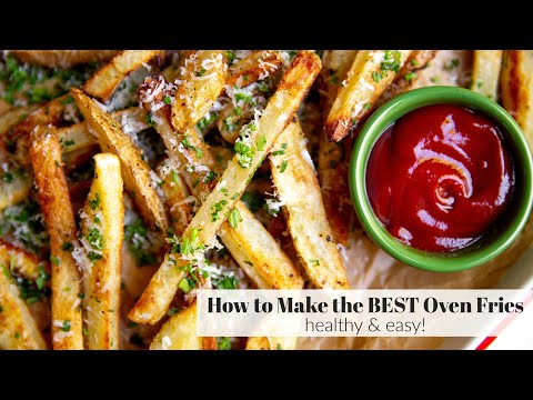 How to Make Oven Fries (The BEST Baked Fries) | Healthy & Easy