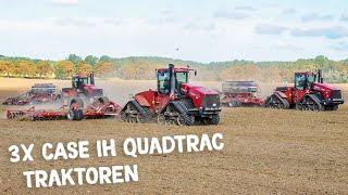 CASE IH Quadtracs im Einsatz | Horsch Maschinen | Bodenbearbeitung | Saat