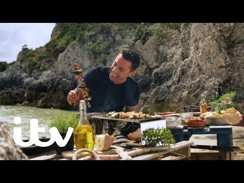 Gino's Italian Coastal Escape | Gino's BBQ Fish Kebabs With Chilli Tartare Sauce | ITV