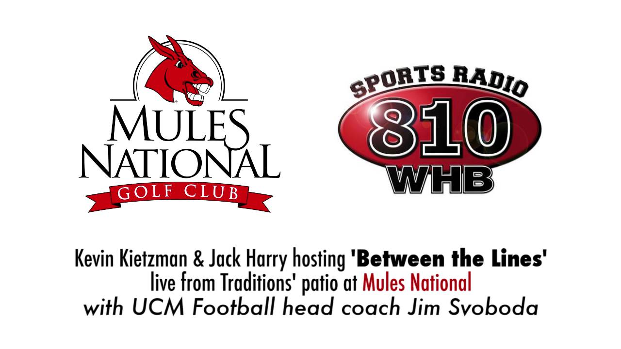 UCM Athletics: Mules Football HC Jim Svoboda on 810 Sports ...