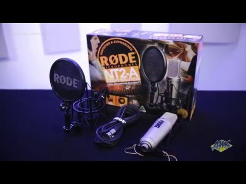 Rode NT2A Anniversary Vocal Microphone Package - Rode NT2A