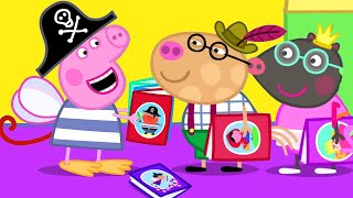 peppa is a loveable, but slightly bossy little pig who lives with mummy pig, daddy pig, and her little brother george. Peppa Pig Official Channel New Season Peppa Pig S Best Dress Up Costume Youtube