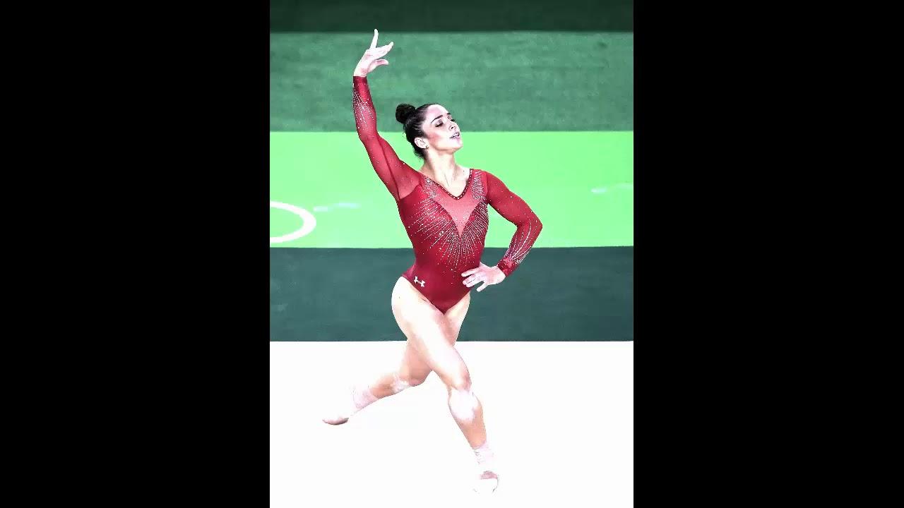 Alexandra Aly Raisman Floor Music 2015 2016 Hq Youtube