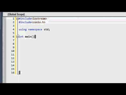 C++ Tutorials Episode 1: Hello World Project