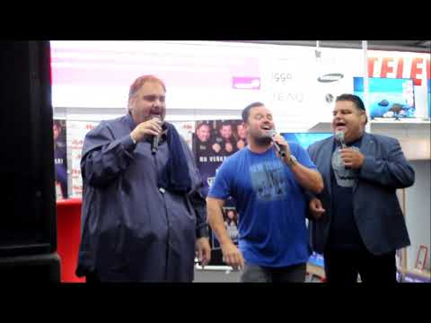 Django Wagner, Peter Beense en Frans Duijts live instore Mediamarkt BoZ