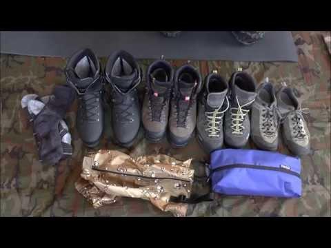 Как правильно выбрать туристическую обувь для треккинга в поход