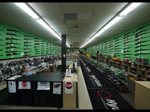 America S Largest Gun Shop Hyatt Gun Charlottte Nc Youtube