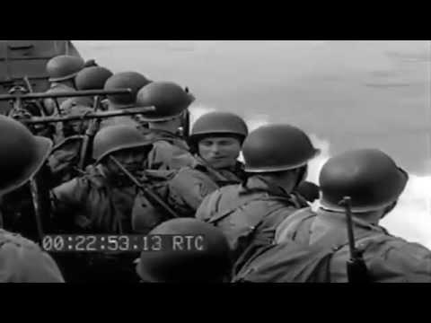 Amphibious Troops Board USS Bayfield (APA-33), Plymouth, England, 03/24/1944 (full)