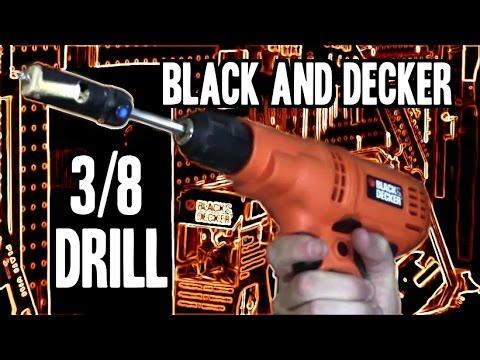 Black & Decker 3/8 Drill/Driver DR260B