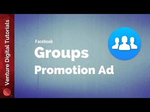 NEW Facebook Promote Group Ad - How To