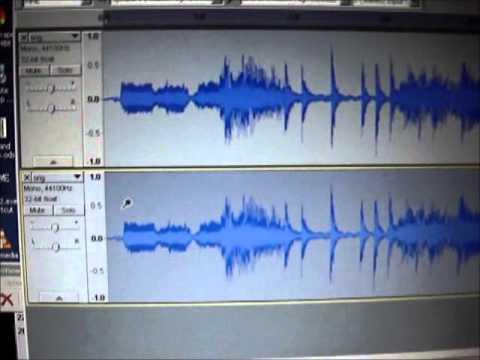 MP3 vs. Uncompressed audio null test