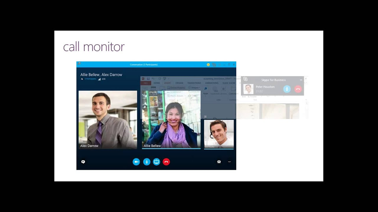 how to create a webinar with skype for business