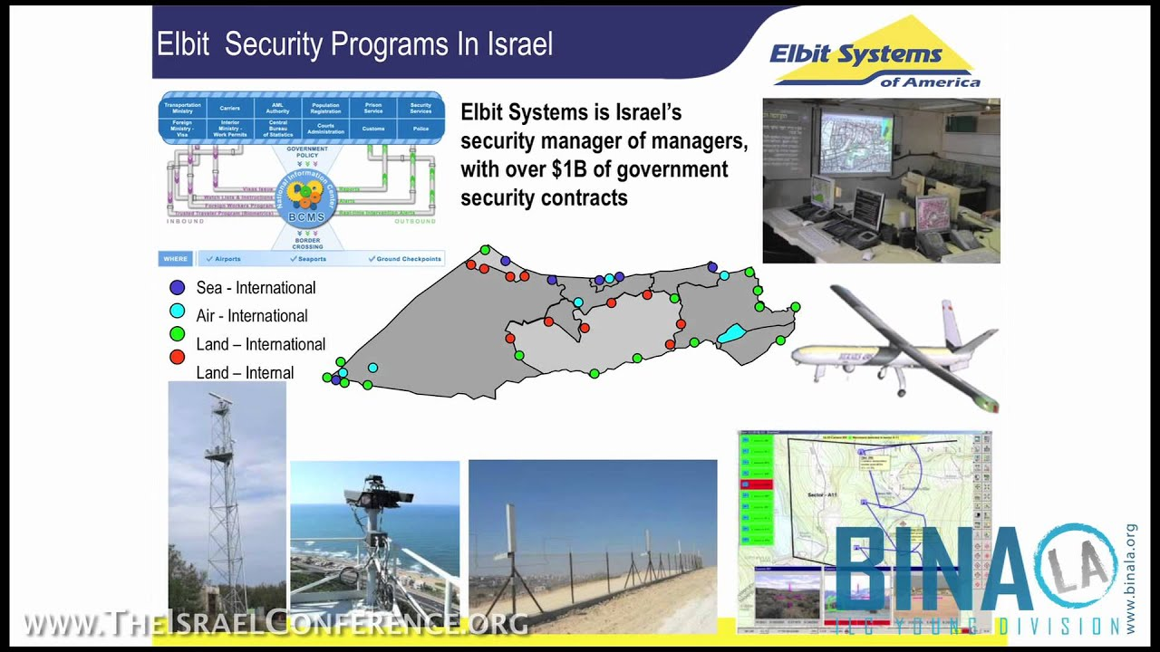 Elbit Systems Of America | The Israel Conference   YouTube